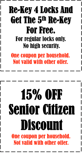 15% coupon discount locksmith in Temple Terrace Florida