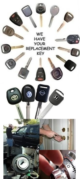ignition key repair or replacement services