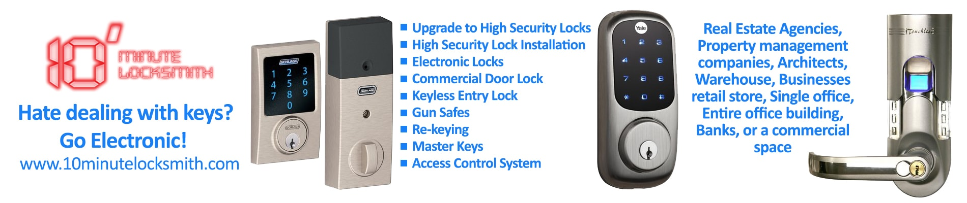 Replacing Electronic Locks Service
