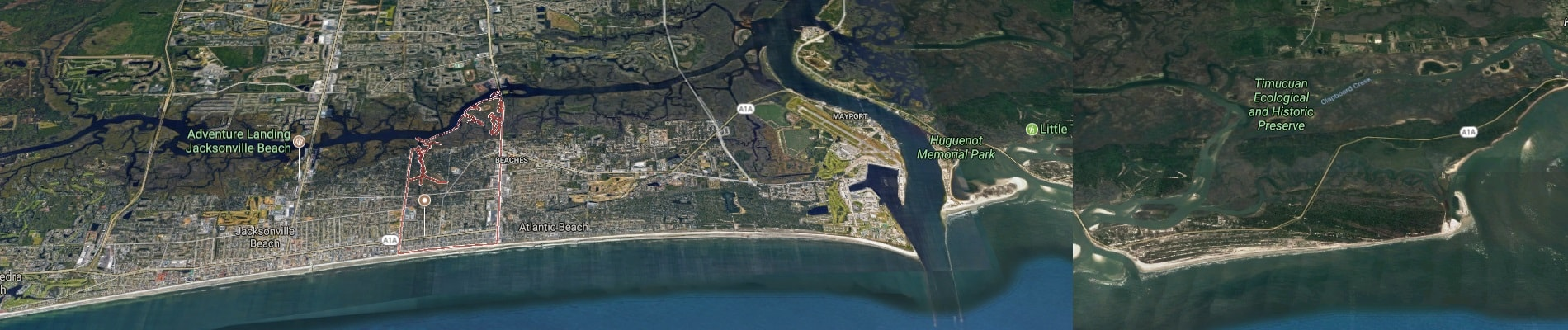 Neptune Beach is a beachfront city east of Jacksonville in Duval County, Florida
