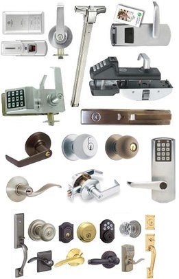 Commercial and electronic card key best locks