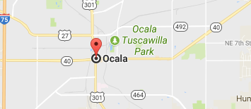 Google Map Ocala, FL