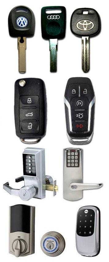 Home locks and car keys services